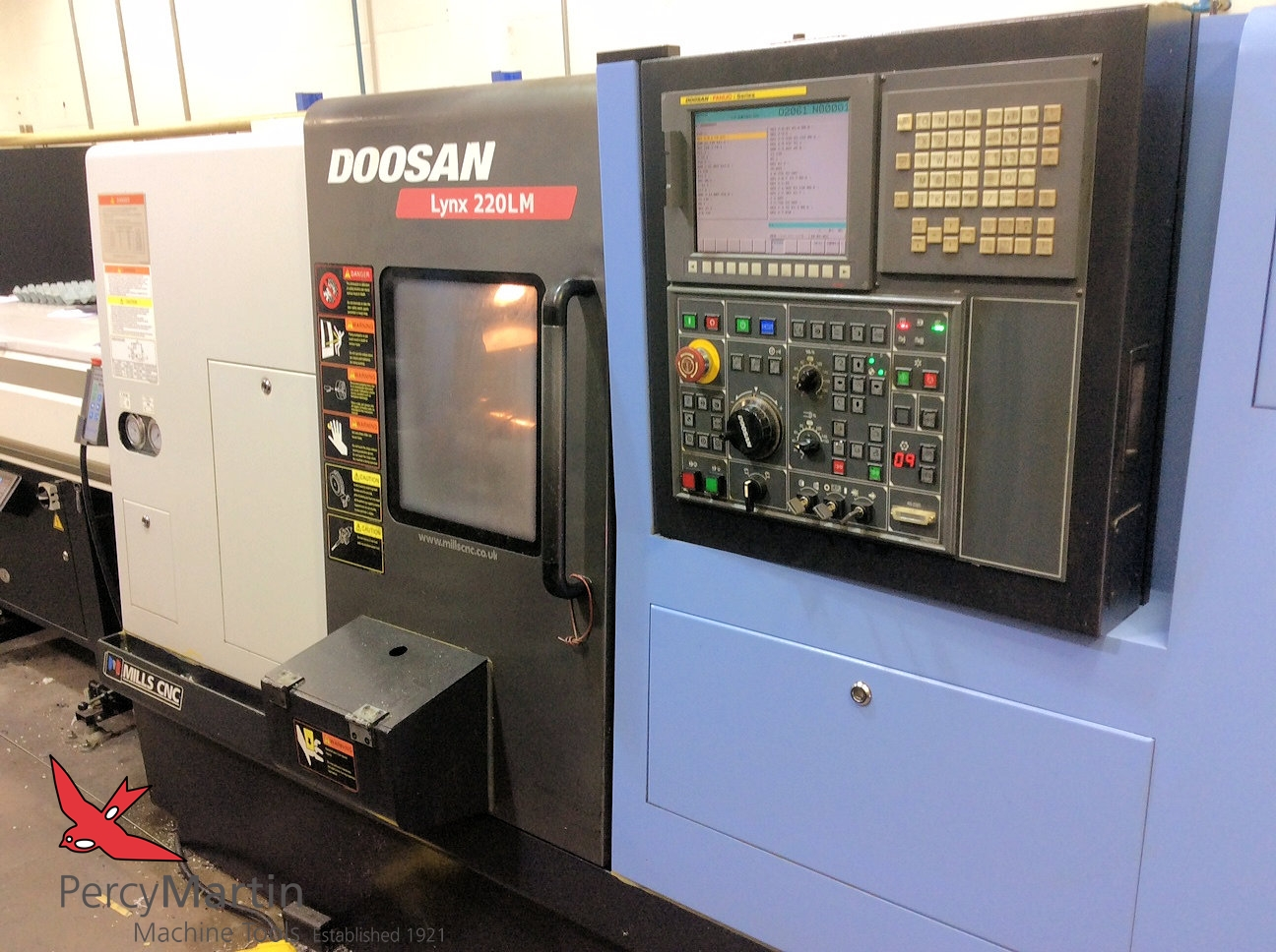 used Doosan Lynx 220LMB CNC Lathes with Milling for sale