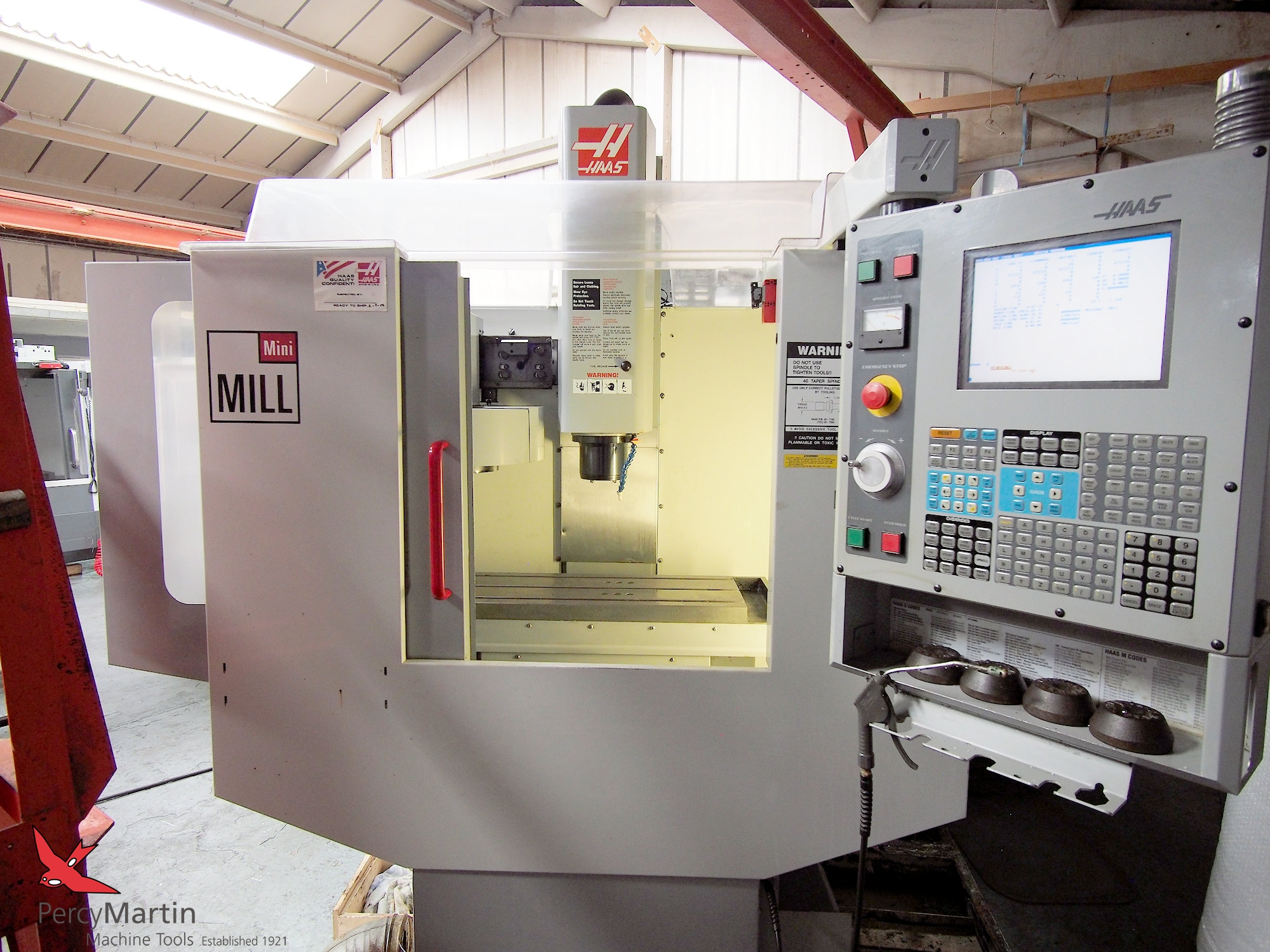 used HAAS MiniMill 2004 Vertical Machining Centres for sale