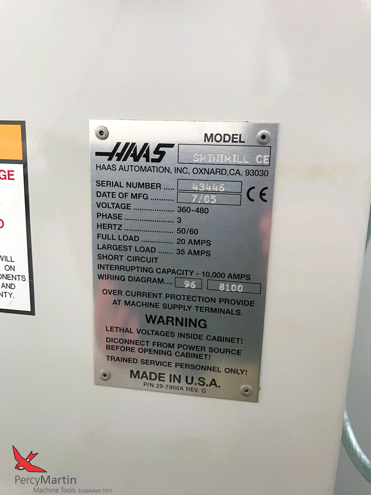 Used Haas Super Mini Mill 2005 Vertical Machining Centres For Sale Wiring Diagram Download Pdf