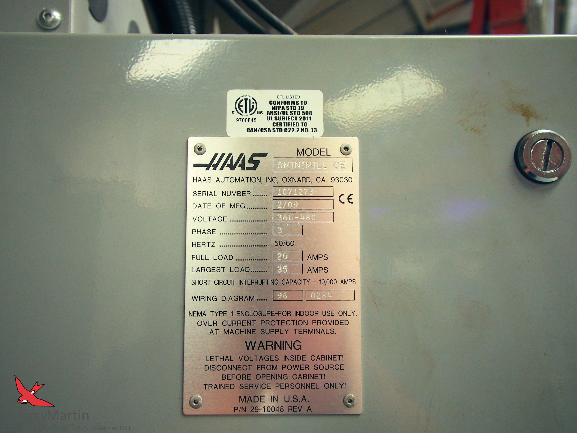 Used Haas Super Mini Mill 2009 Vertical Machining Centres For Sale Wiring Diagram Download Pdf