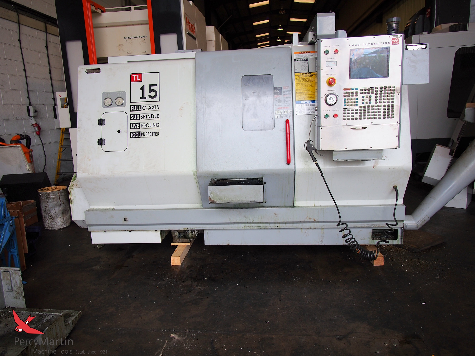 used HAAS TL-15 2004 CNC Lathes for sale | Percy Martin Haas Tool Setter Wiring Diagram on