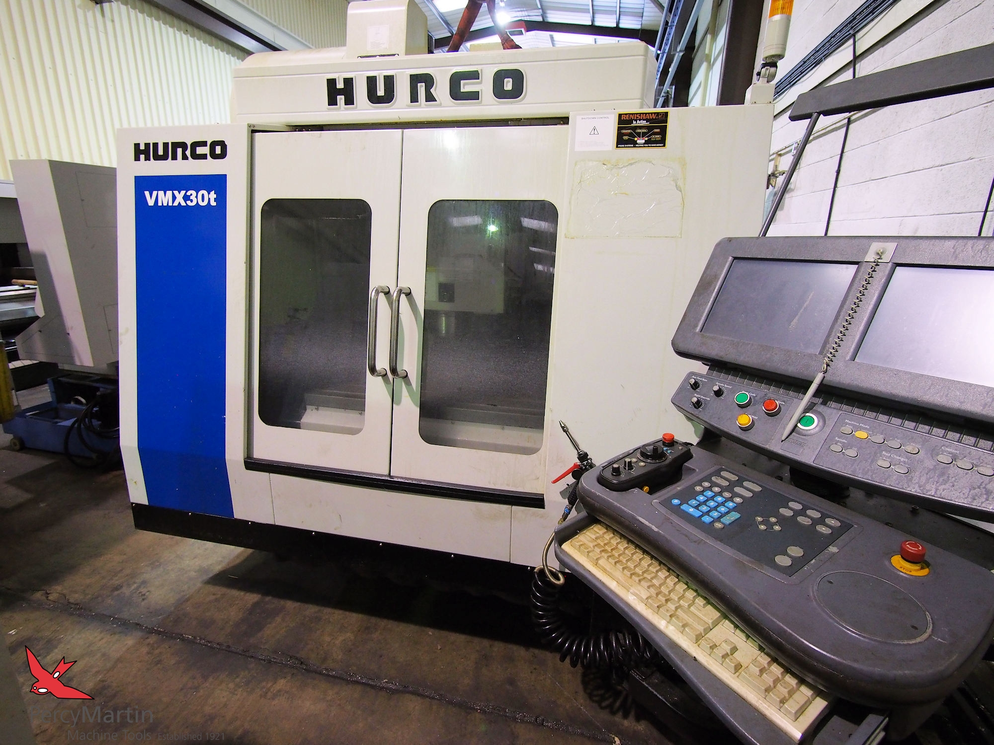 used Hurco VMX30T 2011 Vertical Machining Centres for sale