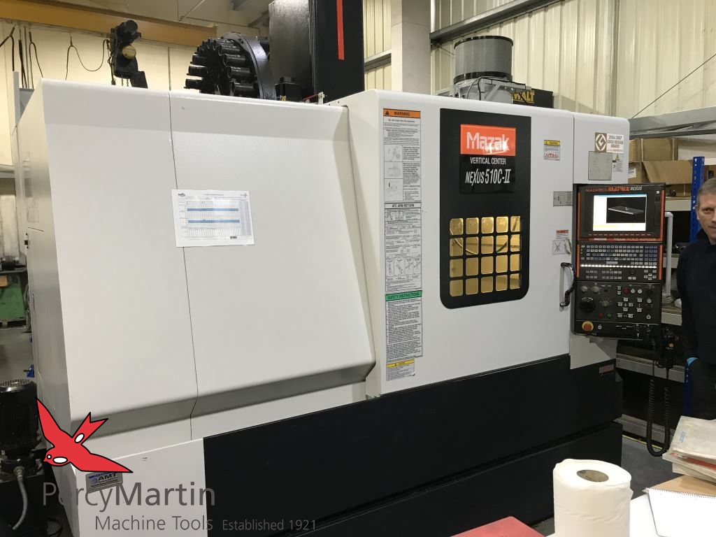 used Mazak Nexus 510C-II 2008 Vertical Machining Centres for