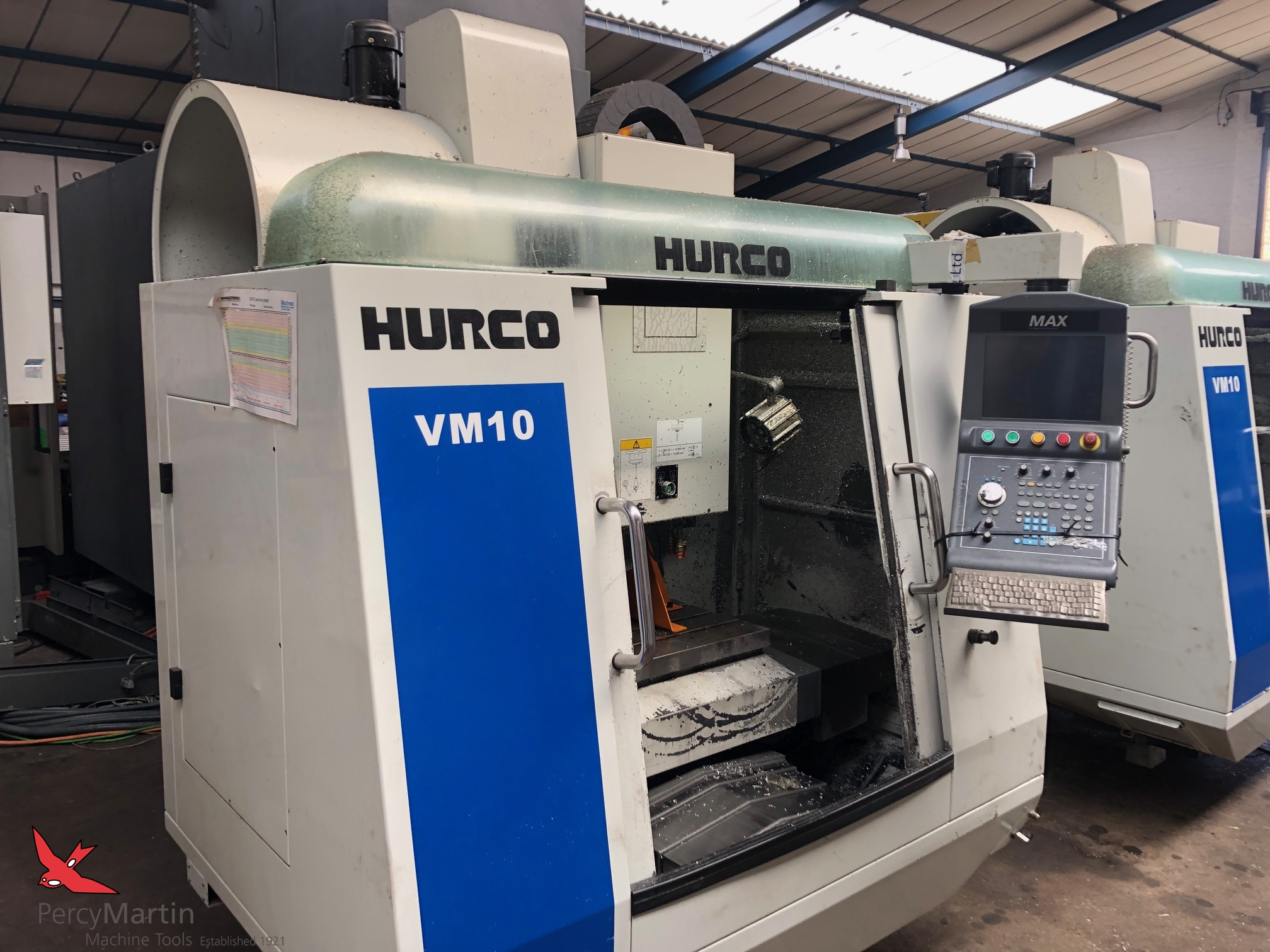 used Hurco VM10 2010 Vertical Machining Centres for sale