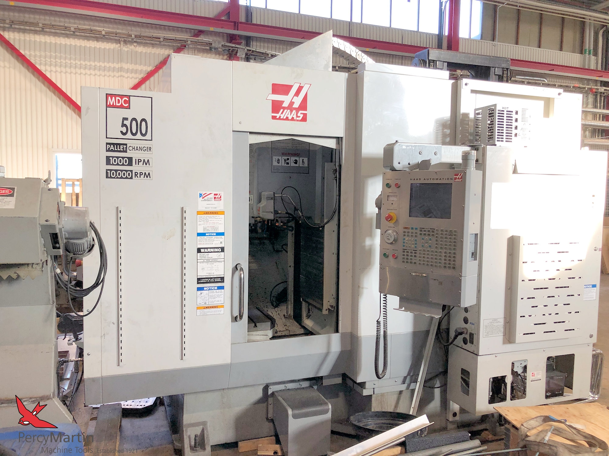 HAAS MDC-500 Twin Pallet Vertical Machining Centre