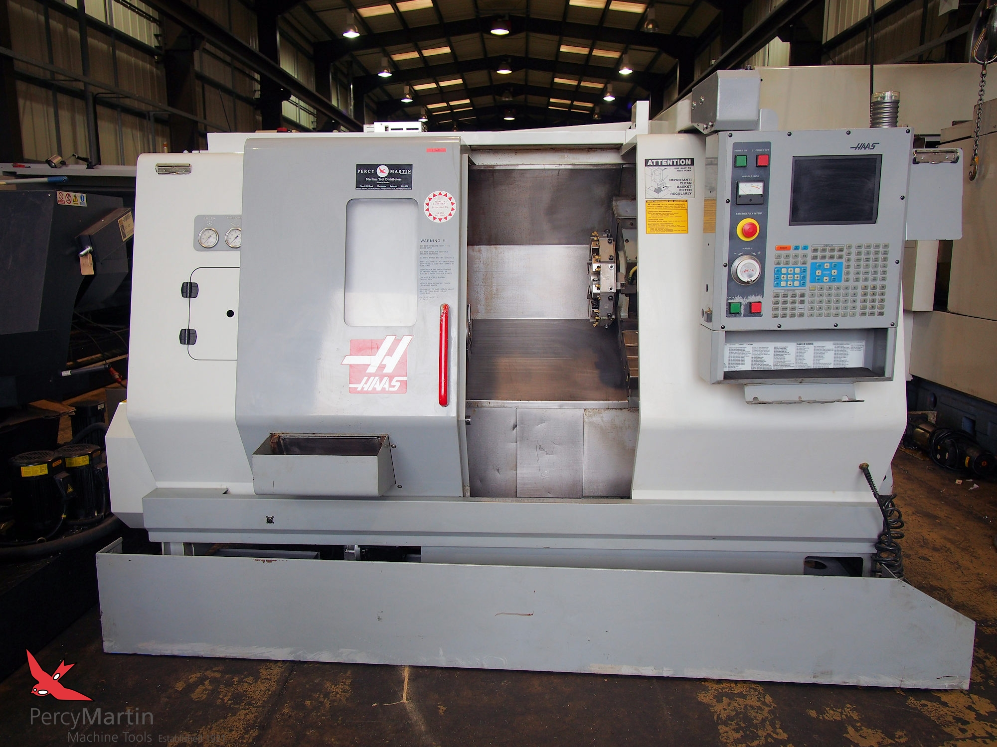 used HAAS SL-20 2003 CNC Lathes for sale   Percy Martin Haas Sl Wiring Diagram on