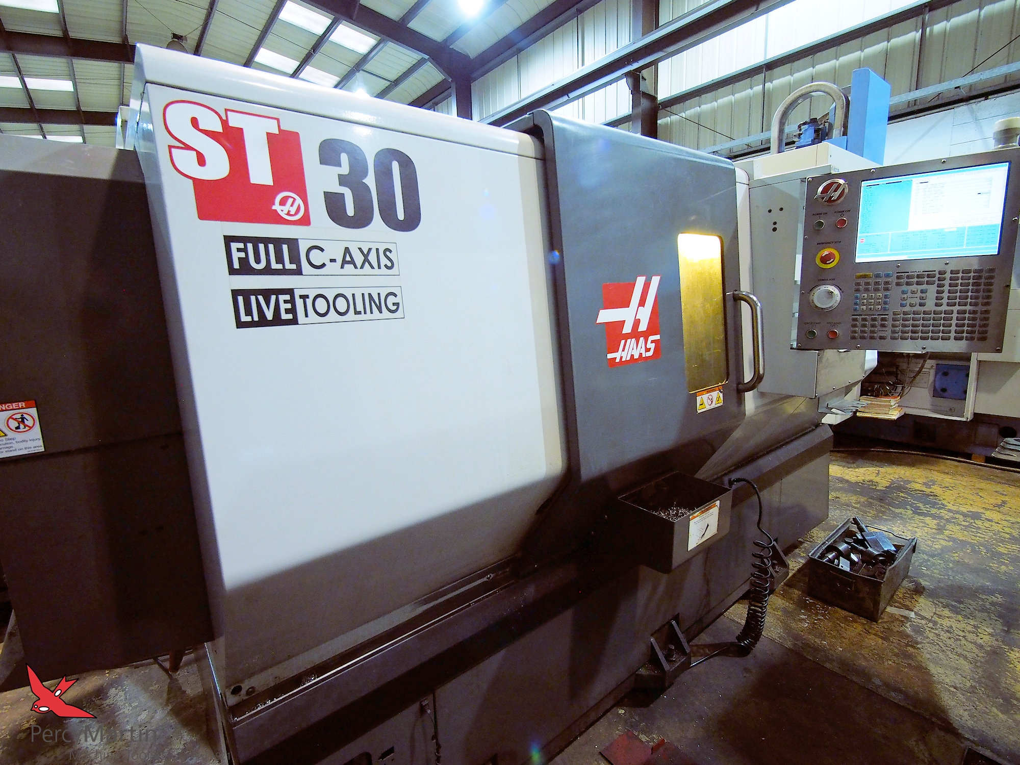 HAAS ST-30 with C axis & Milling 2010