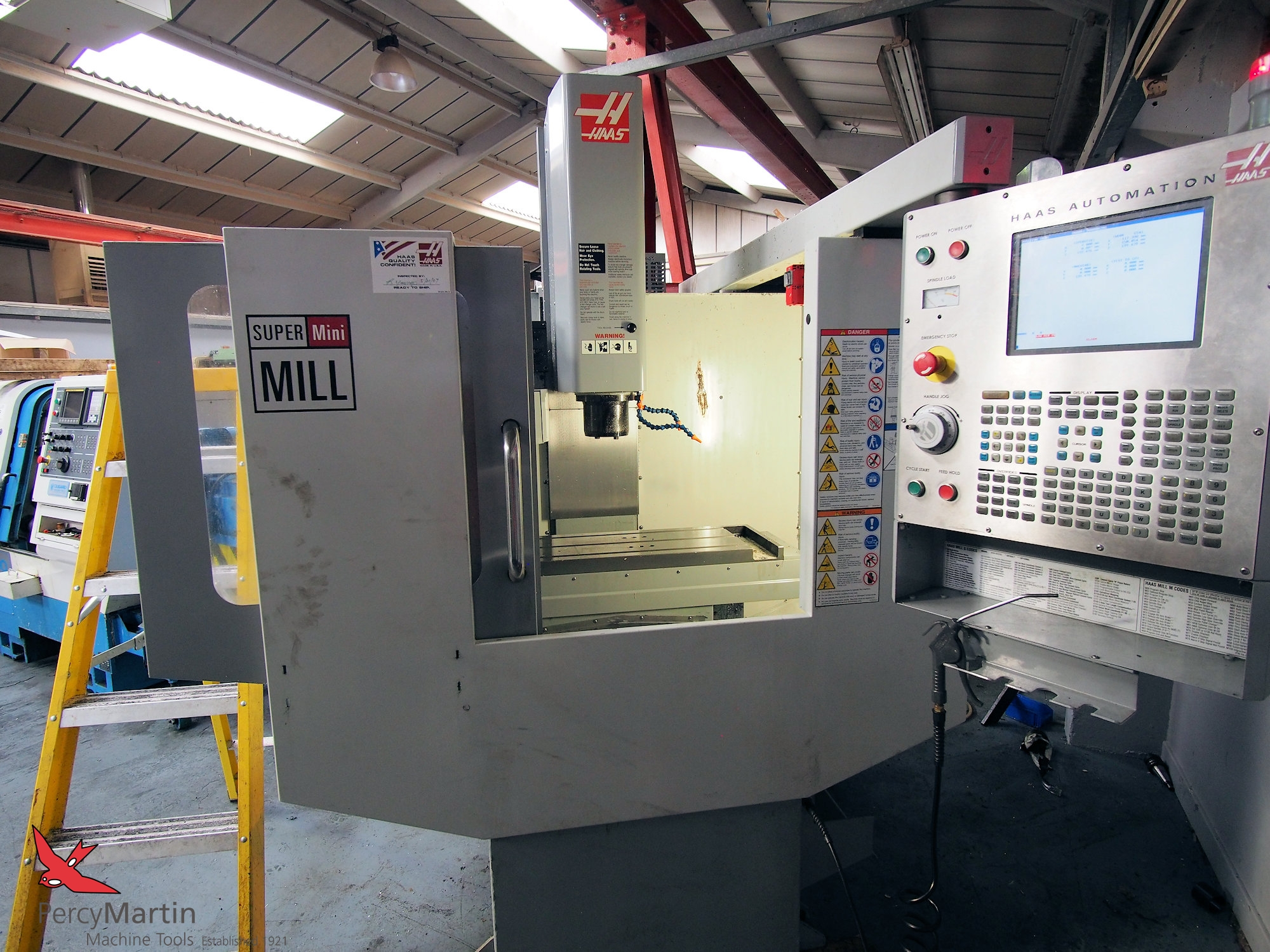 HAAS Super Mini Mill 2007