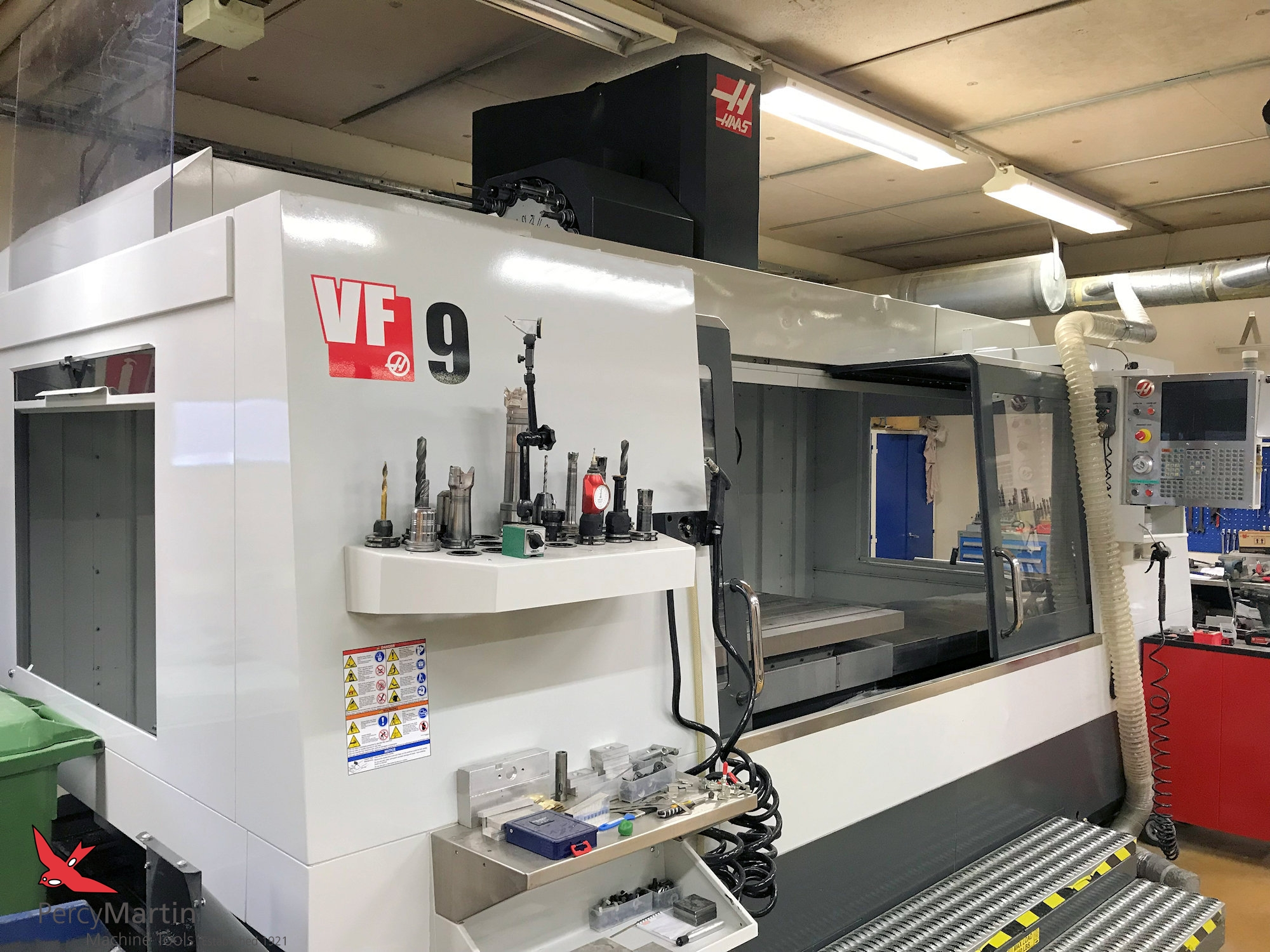 used HAAS VF-9 2012 Vertical Machining Centres for sale | Percy Martin