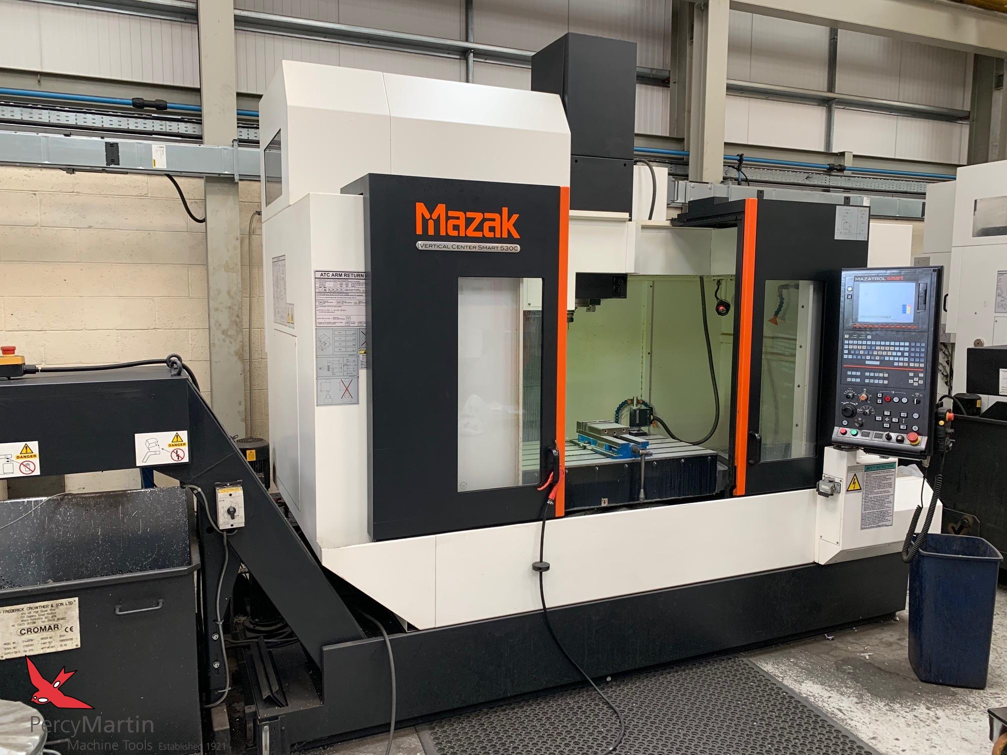 used Mazak Smart 530C 2014 Vertical Machining Centres for