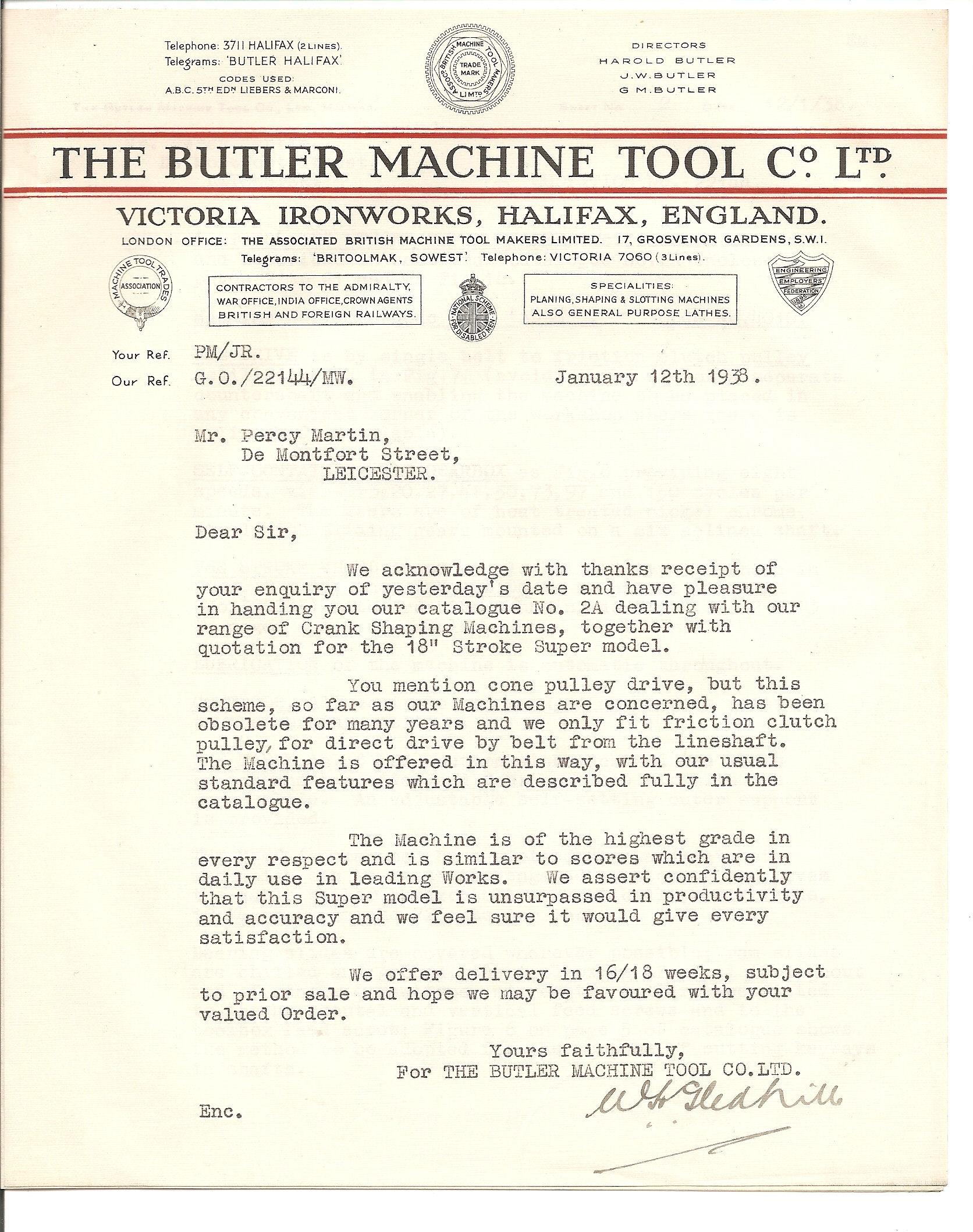 butler machine tool